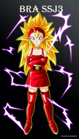 Bra ssj3 by Metamine10