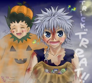 HunterxHunterxHalloween by panchan77