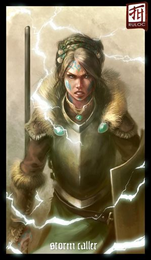 Daily Sketch - Storm Caller by Ruloc