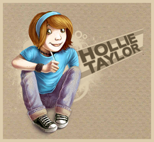 Hollie name-tag by hollietree