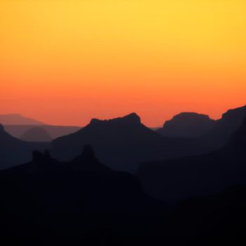 Sunset at the Grand Canyon by A1k3misT