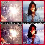 Fireworks action - by  floor by FloorYriarte