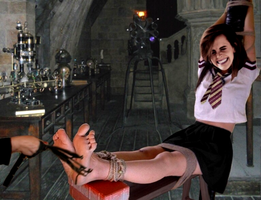 Hermione's feet punishment by ATonyP