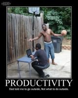Productivity -demotivation- by Dragunov-EX