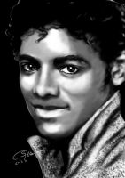 Michael Jackson portrait digital by 79ChristinaS