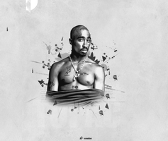 2Pac- Wallpaper by epro-creative