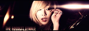 CL ''the baddest female' by MsSimple