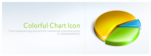 Colorful Chart Icon by cemagraphics