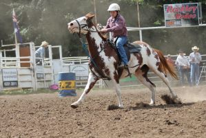 Barrel Racing 5 by How-You-Remind-Me