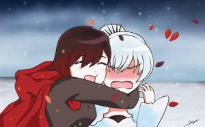 Ruby x Weiss by 136h13