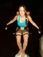 Lara Croft jump by Val-Raiseth