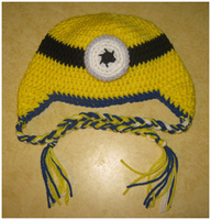 Minion Hat by YunisUnis