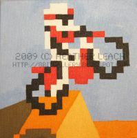 Excitebike 01 by 8bitgallery