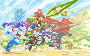 Freedom Planet 2 by TysonTan