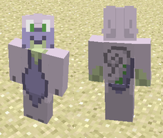 Goodra Minecraft Skin by Kdogfour