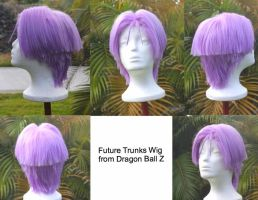 Future Trunks Wig Commission by RHatake