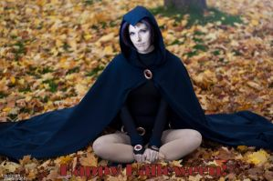 Happy Hallowe'en : Raven by Lossien