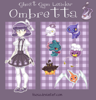 .:Contest:. Ghost Gym Leader Ombretta by Lisosa