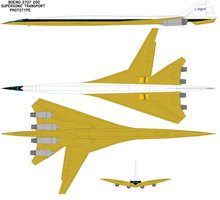 Boeing 2707 200 sst prototype by bagera3005