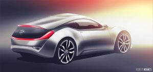 Mercedes Coupe Concept #01 by roobi