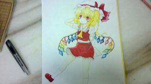 Flandre Scarlet by piglagoon5