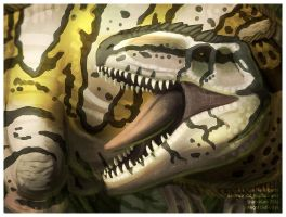 Giganotosaurus by Essence-Of-Rapture