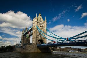tower bridge Olympic Edition by sazonian