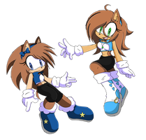 ::SONIC CHANNEL:: Heroine Siblings by Keeshii-Mirun