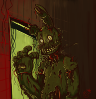 Fnaf - We have a place for him by Marikuishiyutaru