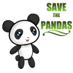 SAVE THE PANDAS by VexiWolf