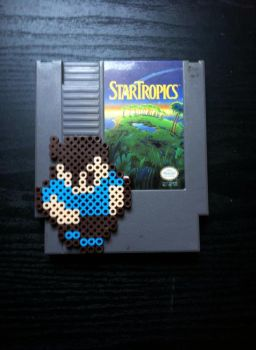 Mike - Star Tropics by 8bitsofawesome