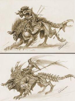 RIDERSKETCHES by no1hellangle