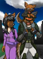 Alsatian Family Commission for LazyRayFinkle by Micgrol