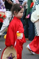 Young Japanese Flower Dancer by wolfphotography