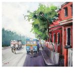 The 204 Bus-Stand by asbiswas