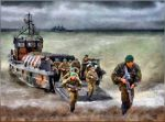 Young Royal Marines Officers by fmr0