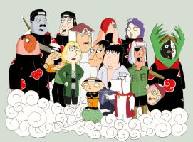Family guy Shippuden by Lundbergdavid
