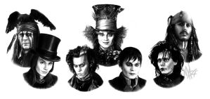 The universe of Johnny Depp by MaryMaryLP