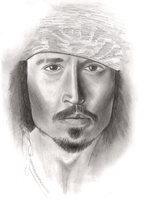 Johnny Depp by Tiofrean
