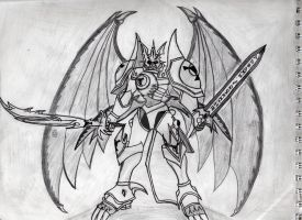 Dukemon Wyvern Mode by NakamuraXAkira