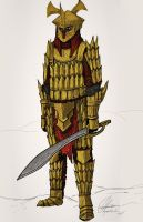 Easterling Swordsman by Taurus-ChaosLord