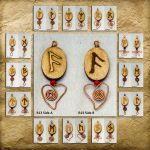 Norse Rune pendent for your car, bag or keys by YANKA-arts-n-crafts