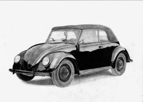 VW Beetle 1938 by 1Pablo-diablo1