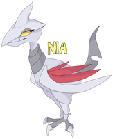 Nia the Skarmory by MBPanther