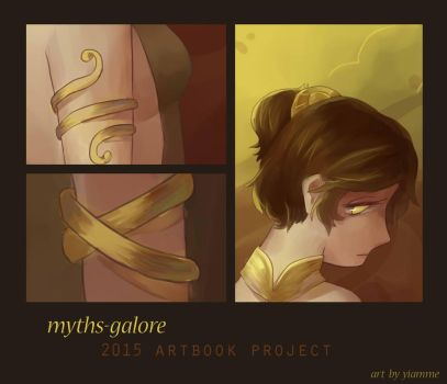 Myths-Galore Artbook Preview by Yiamme