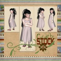Chiildren pack dark stock by Ecathe