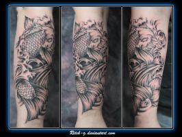 Blk n Gry Koi by ritch-g