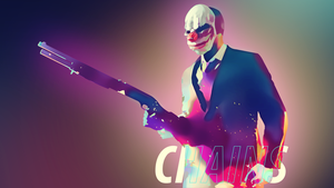 Payday 2 Chains Wallpaper (1920 x 1080) by Solar11pro