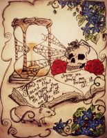 Hourglass by tattoo-love-forever