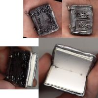 Miniature Book Pendant by Izile